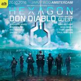 Don Diablo @ Hexagon ADE Night 2016 (ADE 2016) – 20.10.2016 [FREE DOWNLOAD]