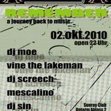 DJ S.I.N. live @ Old Abby Remember Party 22.10.2010 Style: Techno