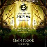 TEASER PARTY. TRANSITION HUELVA. Dark Progressive trance