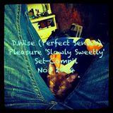 D.Wise (Perfect Senses) Pleasure 'Slowly Sweetly' Set-Compil Nov 2014.