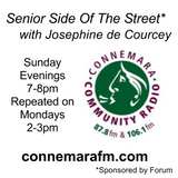Connemara Community Radio - 'Senior Side Of The Street' with Josephine de Courcey - 19nov2017
