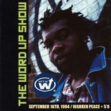 The Word Up Show - 9/16/1994 - Hosted by Warren Peace & 5'8