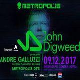 Jassen Petrov - Live @ Metropolis, IEC - Sofia (Warm Up For John Digweed) - 09-Dec-2017