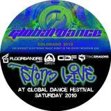 Ston3 - Live at Global Dance Festival 2010 - RedRocks - Denver, Colorado