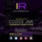 """Codge Jnr Presents """"The Groove"""" Bumpin' Da Funk LIVE @ Influx Radio (19.06.18)"""
