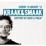 DJ Philip @ Kraak & Smaak Sunday Revolution LaRocca