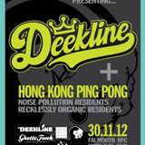 Dj Haya Waska & R4WLOOP  - Noise Pollution Presents Deekline - Falmouth 30/11/2012