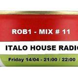 Italo House Mix 88/92 (Italian Deep House, Piano) Mix 11 DJ Rob1