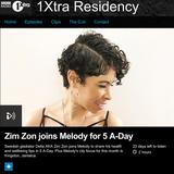 Melody Kane 1Xtra Residency June 6th (Radio Rip)