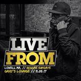 Live From // Lowell Ma - Gary's Lounge // Reggae Sundays 11.05.17