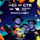 4B b2b GTA b2b Valentino Khan - EDC Orlando 2018 (10.11.2018)