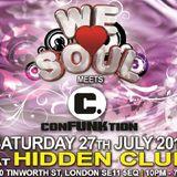 DJ SET: Short Fuse @ We Love Soul Meets Confunktion: Sat 27th July