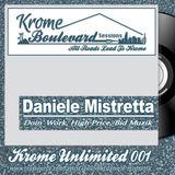 DANIELE MISTRETTA - 001 - KROME UNLIMITED SERIES
