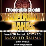 Les causes de l'union de la communauté - Cheikh Abdel Hakim Dehas