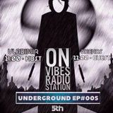 Keekos - Underground 005 June 2017(hosted by Vladimir) @ Vibes Radio Station