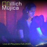Illich Mujica Live for Playdate Feb. 2015 at Good Room BK