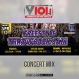 V101 Freestyle Throwback Jam Concert Mix