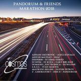 E.X.Z.O. - Pandorum & Friends Marathon 2018 on www.cosmos-radio.com (Germany) 03.02.2018