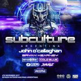 Bryan Kearney - Live @ Subculture Argentina - 04.11.2017