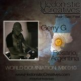 Gerry G - Hedonistic Creatives Mix 010