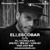 Eli Escobar - Pioneer DJ's Playground