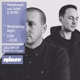 Metalheadz RinseFM: Jubei & SP:MC 16th March 2016