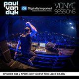 Paul van Dyk – Vonyc Sessions 481 (Guest Alex Kraig) (13.11.2015)
