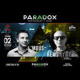 2 Rivne DJ's (DJ L'Mous, DJ Rems) @ Paradox Party-Bar, Lviv - 2018-11-02