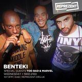 Too Bad & Marvel - 16/08/17 - #TekOneTekTwo on Reprezent 107.3FM
