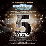 Yiota Live @ Trance Sanctuary 5th Birthday After Party