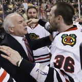 Dave Bolland/Joel Quenneville talk about their Stanley Cup victory