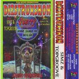 DJ SIMZ & M.C SPACE DABUET SET FOR DIZSTRUXSHON @ MEG QUARRY 13,3,99