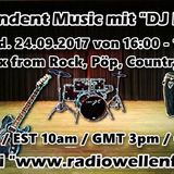Independent Music Mix by DJ Nobby (www.radiowellenflug.de)(24.09.2017)