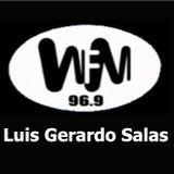Luis Gerardo Salas en De 2 a 4, su último programa en WFM. 18 abril 1997