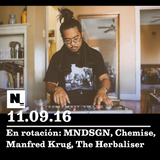 Nómada (11.09.2016): MNDSGN, Chemise, Manfred Krug, The Herbaliser