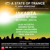 Alex M.O.R.P.H.  -  Live At ASOT 650, Ecopark (Jakarta, Indonesia)  - 15-Mar-2014