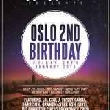 Oslo 2nd Birthday Party Mix