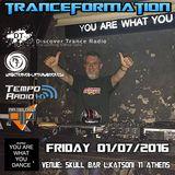 Tranceformation Party 01.07.2016 @Skullbar ,Athens.