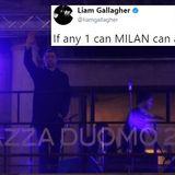 Liam Gallagher @ Milan fashion acoustic