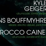 Rocco Caine @ Burst (Level 6) with Hans Bouffmyhre & Kyle Geiger