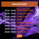 Armin van Buuren - Warm Up Live @ ASOT 850 Festival (Utrecht, The Netherlands)