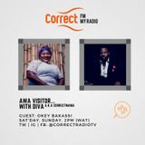 Awa Visitor with Eva d Diva: Okey Bakassi na im bi Guest