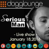 Serious-Man - 'Different Muziq session' live on Dogglounge radio, january 18, 2016