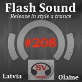 Flash Sound (trance music) #208