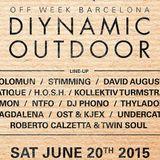 Thyladomid - Live @ Diynamic Outdoor, Parc Del Forum, Sonar 2015 - 20.06.2015