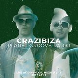 Crazibiza Live @ Dinsmoor, Mexico City (2017-02-16)