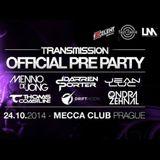 Thomas Coastline live @ Transmission 2014 Pre-Party, Mecca Club, Prague