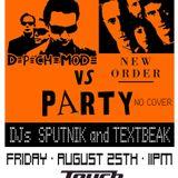 TEXTBEAK - DJ SET DEPECHE MODE VS NEW ORDER PARTY TOUCH CLEVELAND OH AUG 25 2017