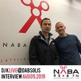 DJ K Interview on Dabsolis w/Sairam (Latvia) 09.08.2019
