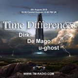 u-ghost - Guest Mix - Time Differences 325 (5th August 2018) on TM Radio